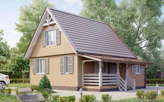 Проект садово-дачного дома Алатырь