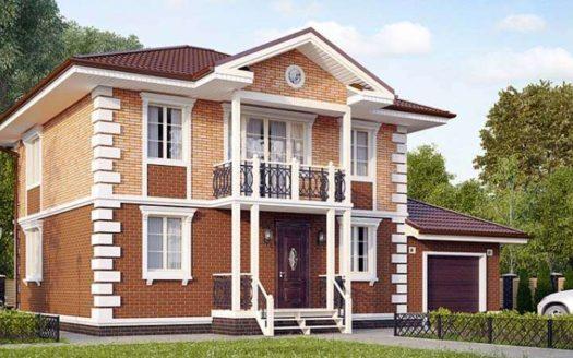 Проект кирпичного дома Забайкалец