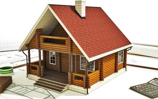 Проект оцилиндрованного дома из бревна