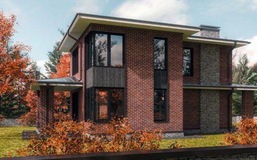 Проект кирпичного дома до 150 м