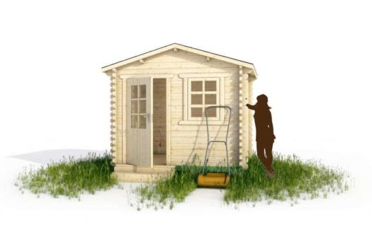 Проект садового домика 001 Беломорск
