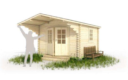Проект садового домика 003 Вайгач