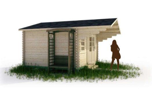 Проект садового домика 004 Бакур