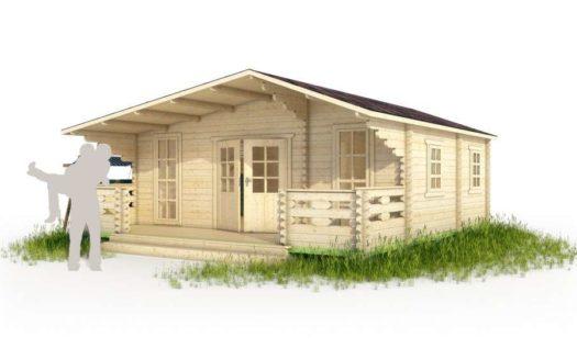 Проект дачного дома 007 Солигалич