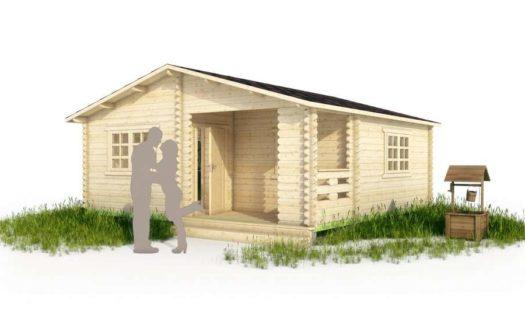 Проект дачного дома 006 Сосновец