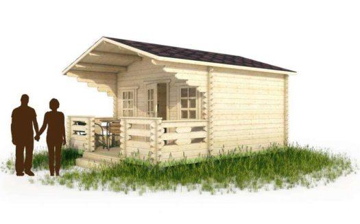 Проект садового домика 006 Коркерос