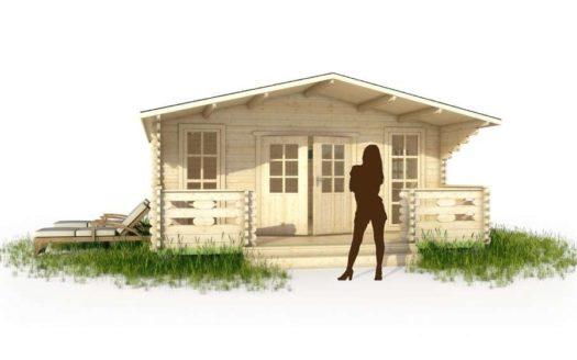 Проект дачного дома 003 Кемь
