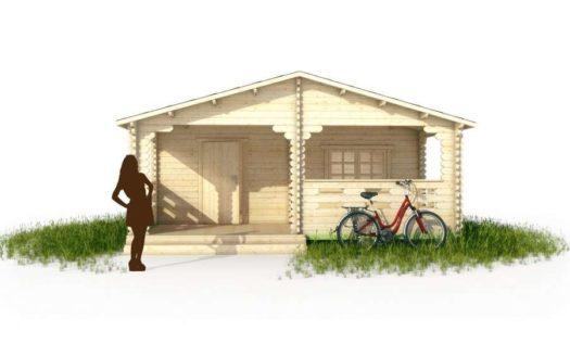 Проект дачного дома 009 Бежецк