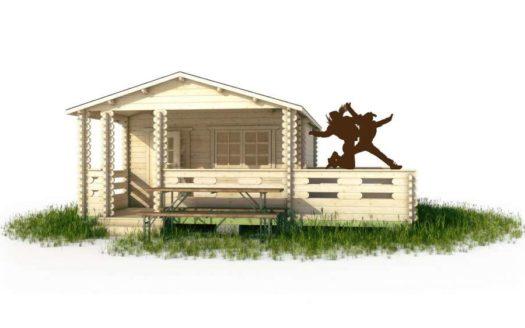 Проект дачного дома 005 Кильдин