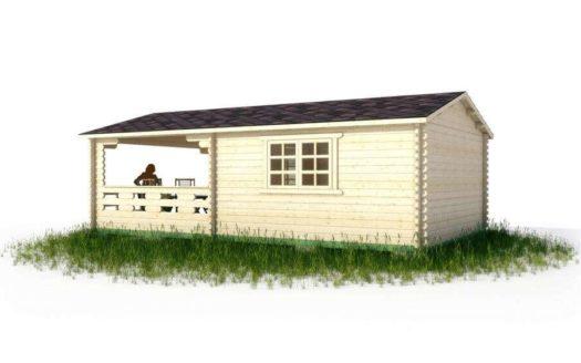 Проект садового домика 012 Шангас