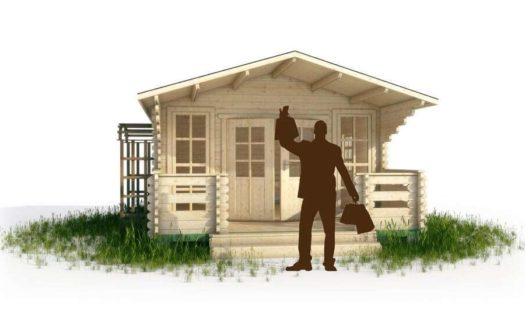 Проект садового домика 009 Буткан