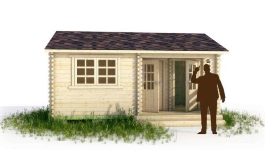 Проект садового домика 011 Кослан