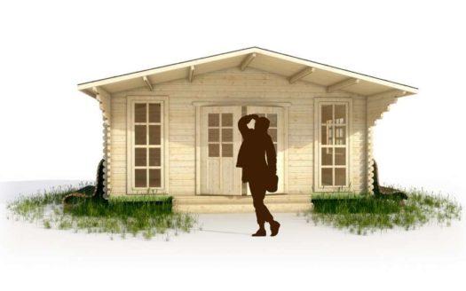 Проект дачного дома 002 Сиговец