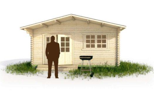 Проект дачного дома 001 Калязин