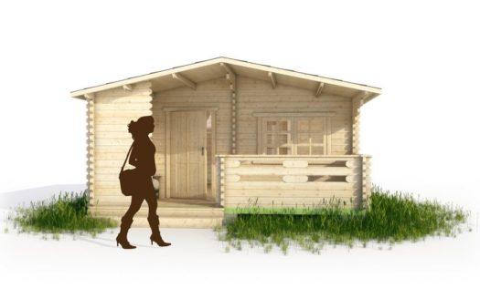 Проект дачного дома 004 Плесецк