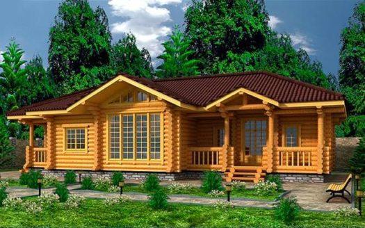 Проект из оцилиндрованного бревна Краснослободск