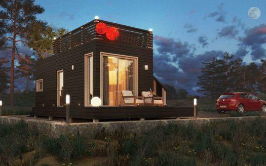 Проект летнего дачного дома