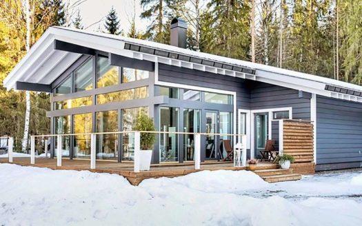 Фахверковый проект одноэтажного дома