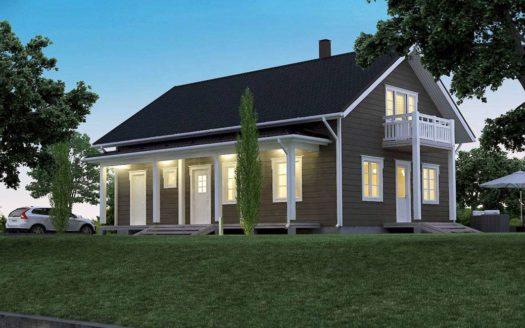 Проект дома в финском стиле