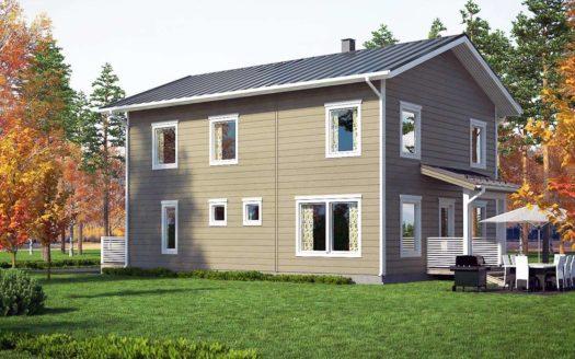 Проект финского дома из сип панелей