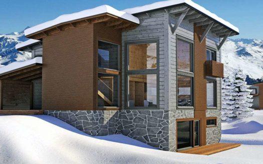 Дом в стиле современного шале Дегтярск