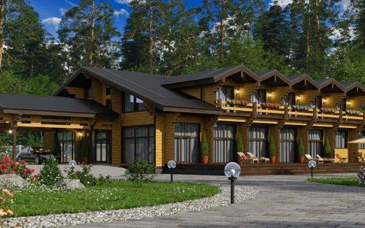 Проект гостиницы с кафе