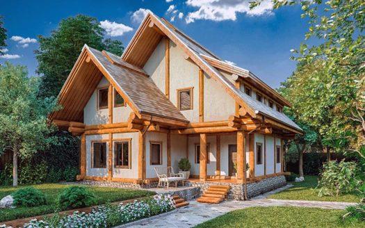 Проект альпийского дома