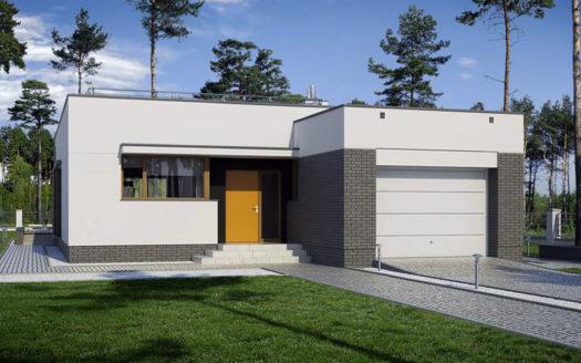 проект современного хай-тек дома