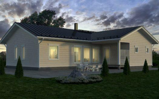 проект финского дома 150