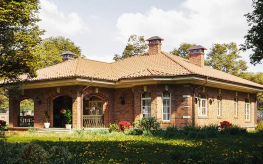 Английский проект одноэтажного дома Челмсфорд