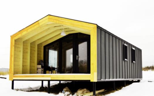 Проект каркасно модульного дома под ключ Берштын