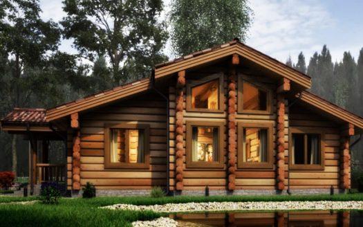 Проект дома из цельного бревна Беловодск